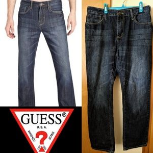 Slim Straight Guess Jeans